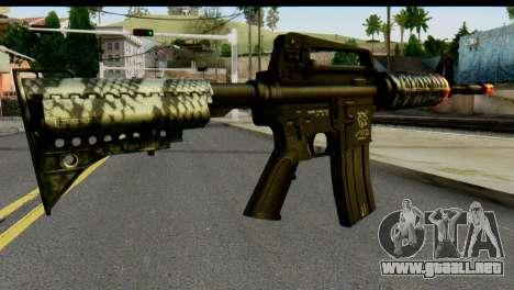 Kill Em All M4 para GTA San Andreas segunda pantalla