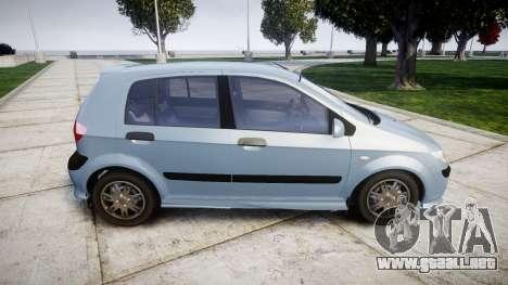 Hyundai Getz 2006 for ENB para GTA 4 left