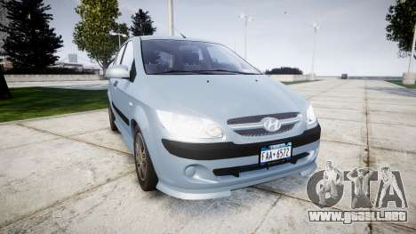 Hyundai Getz 2006 for ENB para GTA 4