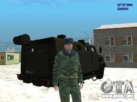 MIC-3924 Blindados Oso para la visión correcta GTA San Andreas