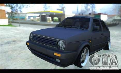 VW Golf MK2 para GTA San Andreas