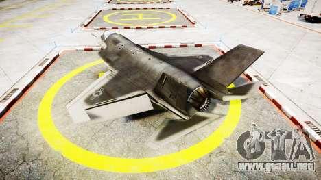 Lockheed F-35B Lightning II para GTA 4 left