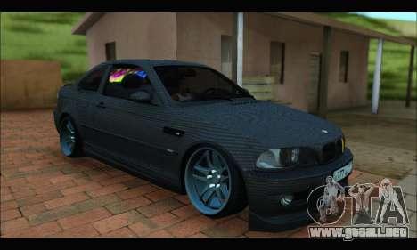 BMW M3 E46 Carbon para GTA San Andreas
