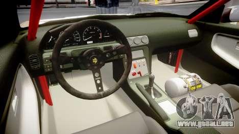 Nissan 240SX Sil80 MikeMasse Edition para GTA 4