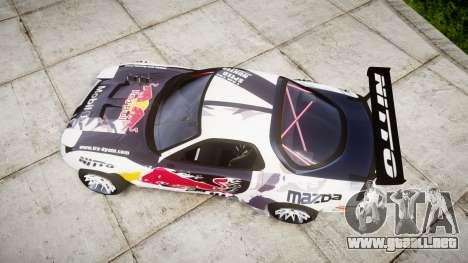Mazda RX-7 Rocket Bunny MadMake para GTA 4 visión correcta