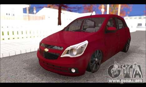 Chevrolet Agile Tunning para la visión correcta GTA San Andreas