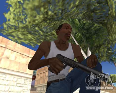 HD Weapon Pack para GTA San Andreas twelth pantalla