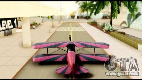 Beta Stuntplane para visión interna GTA San Andreas