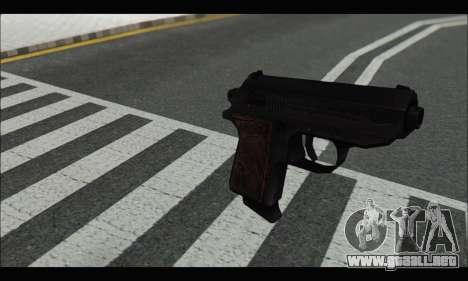 GTA ONLINE: SNS Pistol para GTA San Andreas segunda pantalla