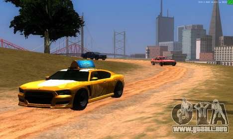 Nuevas rutas de transporte para GTA San Andreas segunda pantalla