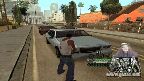 C-HUD Obey para GTA San Andreas tercera pantalla