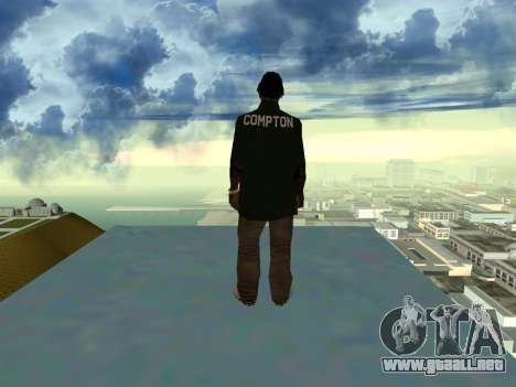 New Fam2 para GTA San Andreas segunda pantalla