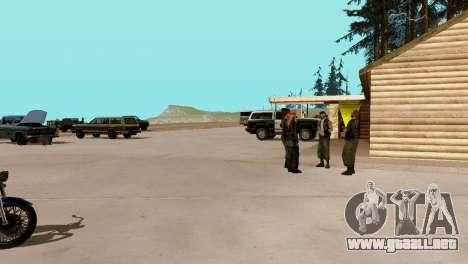 La recuperación de las estaciones de San Fierro para GTA San Andreas undécima de pantalla