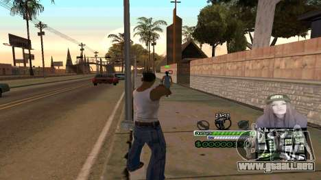 C-HUD Obey para GTA San Andreas