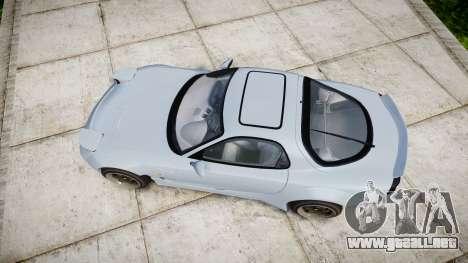 Mazda RX-7 RocketBunny para GTA 4 visión correcta