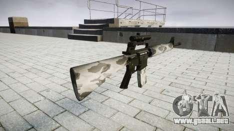 El rifle M16A2 [óptica] yukon para GTA 4 segundos de pantalla