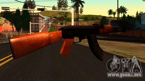 AK47 from Chernobyl 3: Underground para GTA San Andreas