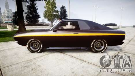 Opel Manta A Black Magic para GTA 4 left