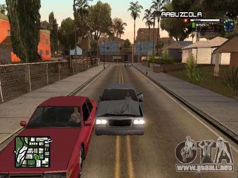 CLEO HUD by SampHack v.20 para GTA San Andreas