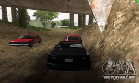 Nuevas rutas de transporte para GTA San Andreas séptima pantalla