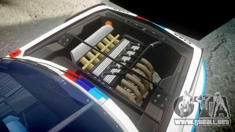 BMW 3.0 CSL Group4 [32] para GTA 4 vista hacia atrás