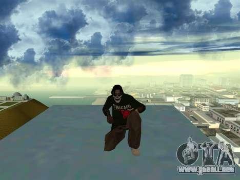 New Fam2 para GTA San Andreas sucesivamente de pantalla