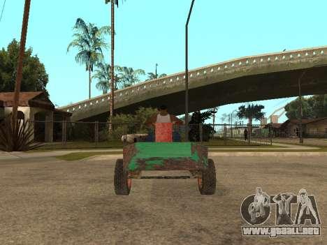 Batmovil para GTA San Andreas left