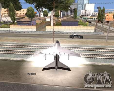 Car Name para GTA San Andreas sucesivamente de pantalla