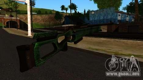 El SV-98 sin el Bípode y el Alcance para GTA San Andreas segunda pantalla