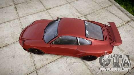 GTA V Pfister Comet 918 Wheel para GTA 4 visión correcta