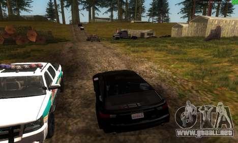 Nuevas rutas de transporte para GTA San Andreas sexta pantalla