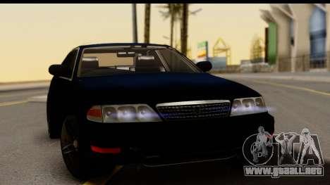Toyota Mark 2 100 para la visión correcta GTA San Andreas