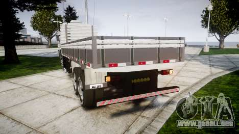 Scania 124G 400 para GTA 4 Vista posterior izquierda