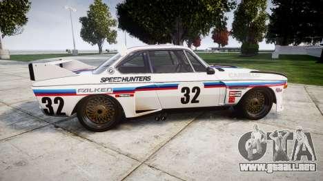 BMW 3.0 CSL Group4 [32] para GTA 4 left