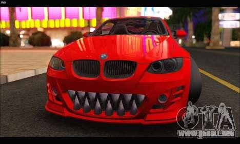 BMW M3 GTS 2010 para visión interna GTA San Andreas