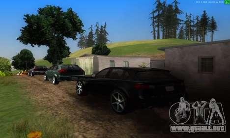 Nuevas rutas de transporte para GTA San Andreas quinta pantalla