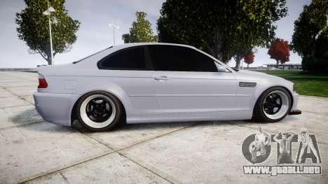 BMW E46 M3 para GTA 4 left