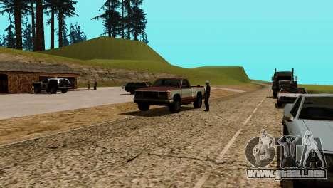 La recuperación de las estaciones de San Fierro para GTA San Andreas novena de pantalla