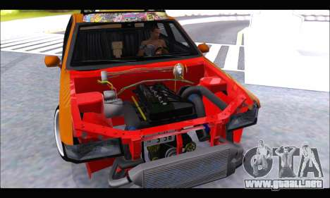 Taxi Extreme Tuning (Hellalfush) para la visión correcta GTA San Andreas