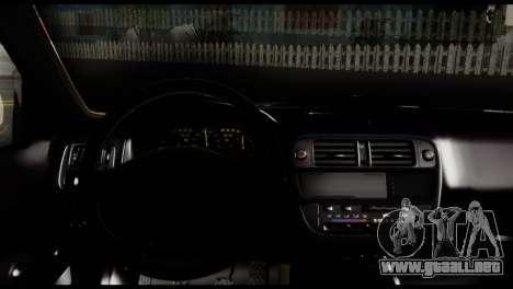 Honda Civic 1.4 Mehmet ALAN para GTA San Andreas vista posterior izquierda