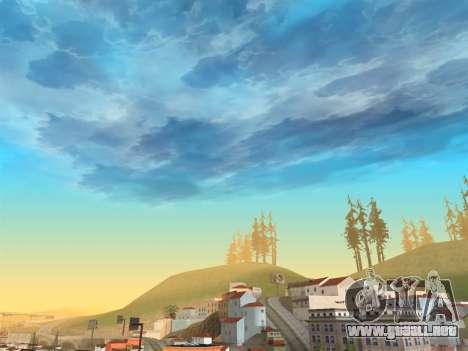 Cielo realista para GTA San Andreas tercera pantalla