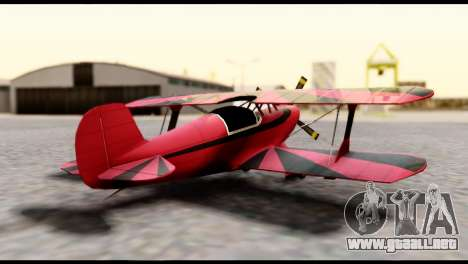 Beta Stuntplane para GTA San Andreas left