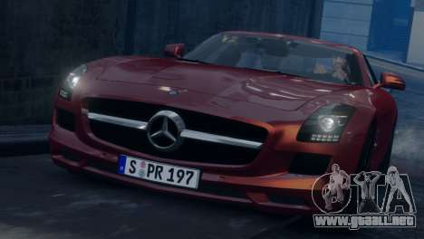 Mercedes-Benz SLS AMG 2011 [EPM] para GTA 4 vista interior