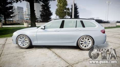BMW 525d F11 2014 Facelift [ELS] Unmarked para GTA 4 left