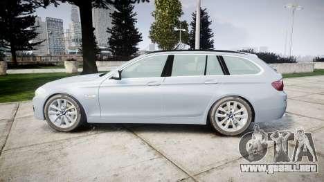 BMW 525d F11 2014 Facelift [ELS] Unmarked para GTA 4 left