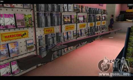 GTA V Musket para GTA San Andreas tercera pantalla
