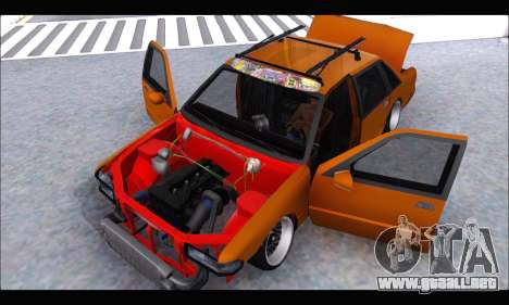 Taxi Extreme Tuning (Hellalfush) para GTA San Andreas vista hacia atrás