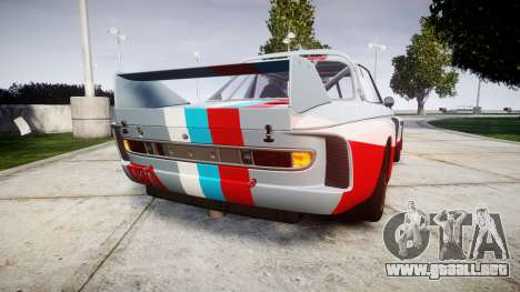BMW 3.0 CSL Group4 para GTA 4 Vista posterior izquierda