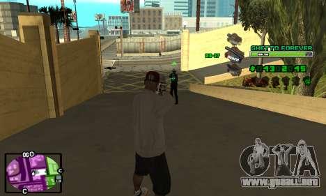 C-HUD Ghetto 4ever para GTA San Andreas tercera pantalla