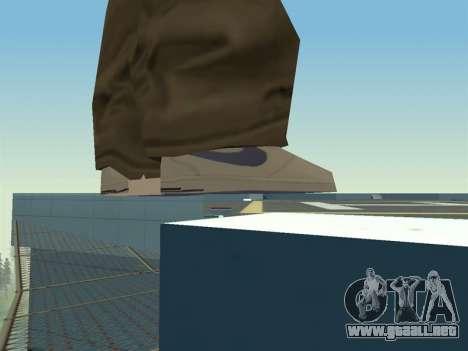 Ballas1 New Skin para GTA San Andreas quinta pantalla